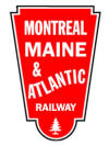 Montreal Maine and Atlantic Railway logo