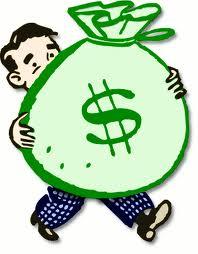 RETA dollars in money bag image