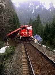 Railroaded CN derailment 2