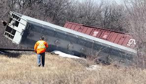 Railroaded CN derailment 3