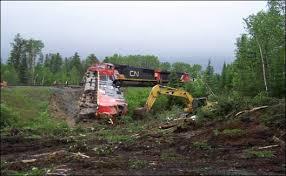 Railroaded CN derailment 9
