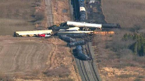 Railroaded CN derailment March 27 2011 pic