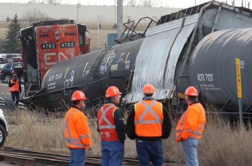 Railroaded CN derailment mar 20 2012 calgary photo