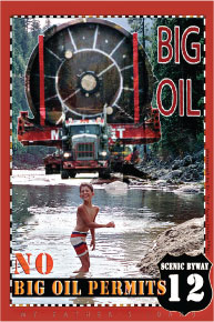 Railroaded Big Oil Stamp Photo