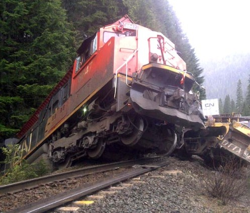 Railroaded CN derailment apr 25 2012