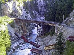Railroaded CN derailment Squamish photo