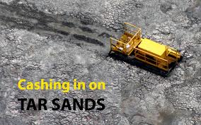 Railroaded Tar Sands Cashing In image