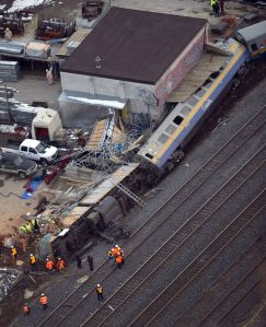 Railroaded Via Rail derailment feb 2012 photo 1