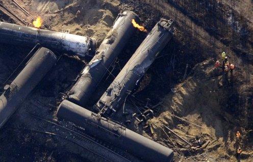 Railroaded CN derailment gainford photo 2