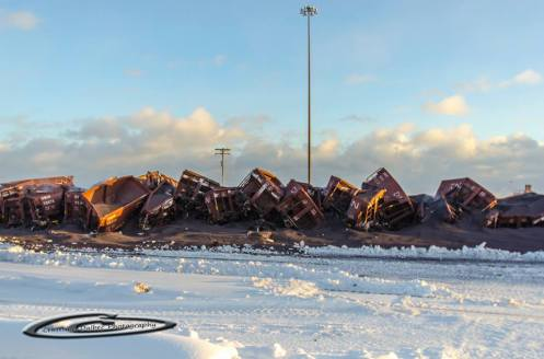 Railroaded cn derailment two harbors dec 5 2013 photo 2