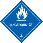 Railroaded dangerous goods sign image 2