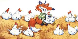 Railroaded fox guarding hen house 2 image