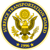 Railroaded Surface Transportation Board logo