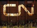Railroaded CN logo old