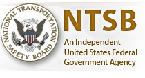 Railroaded National Transportation Safety Board (U.S.) logo