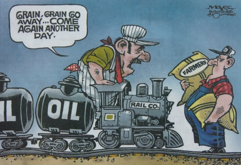 Railroaded Ed Jour cartoon feb 28 2014
