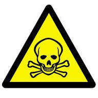 Railroaded poison sign image