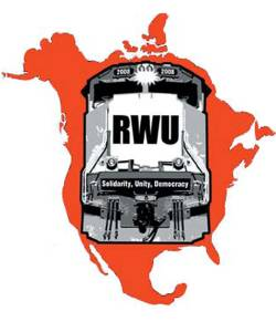 Railroaded RWU logo
