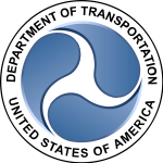 Railroaded US Dept Transportation logo