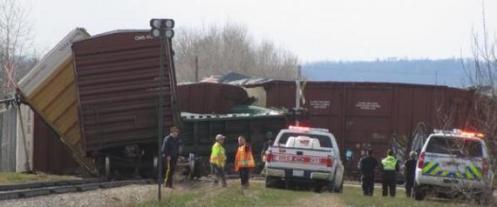 Railroaded CN derailment slave lake 2014 photo 2