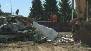 Railroaded CN derailment slave lake 2014 photo 3