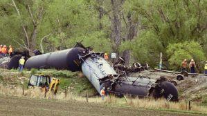 Railroaded derailment Colorado May 9 2014 photo
