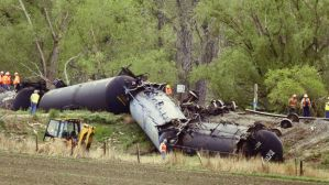 Railroaded derailment Colorado May 9 2014 photo