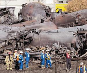 Railroaded Lac Megantic derailment photo 10