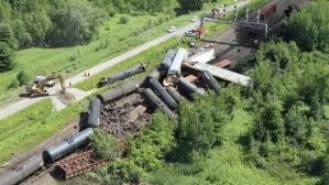 Railroaded cn derailment brockville image