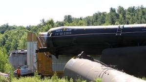 Railroaded CN derailment image brockville july 10 2014
