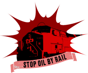 Railroaded Stop-Oil-by-Rail logo