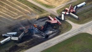Railroaded CN derailment Wadena Sask oct 7 2014 image