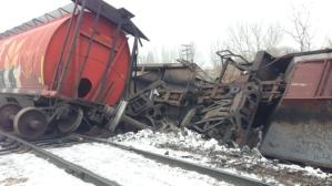 Railroaded CN derailment image Saskatoon dec 13 2014