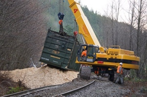 Railroaded CN derailment image squamish dec 21 2014