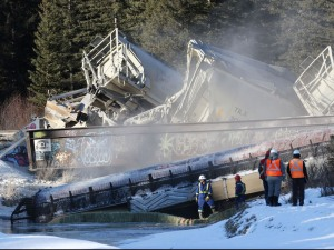 Railroaded CP derailment image banff dec 2014 2
