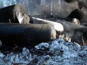 Railroaded CN derailment Timmins 2015 image 1
