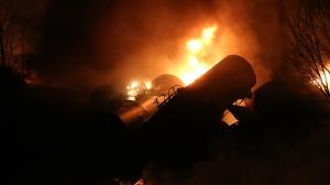 Railroaded CSX derailment wv feb 16 2015 image