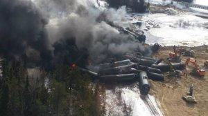 Railroaded CN derailment Gogama image 2