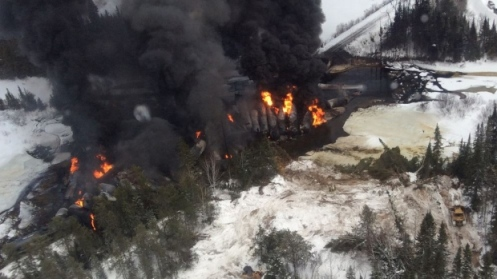 Railroaded CN derailment Gogama image 4